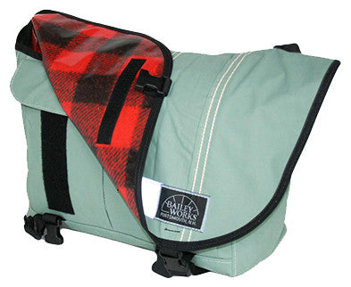 "Bailey Works for Hilton's Tent City ""Friend Street"" Messenger Bag - Hilton's Tent City"