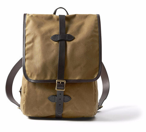 Filson Tin Cloth Backpack - Hilton's Tent City