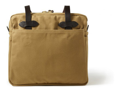 Filson Rugged Twill Tote Bag With Zipper - Hilton's Tent City
