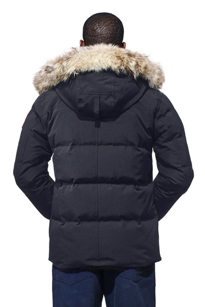 Canada Goose Men s Wyndham Parka at Hilton s Tent City in Boston 70a12c330