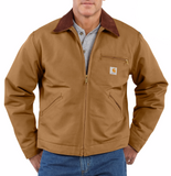 Carhartt Duck Detroit Jacket Blanket Lined #J01 - Hilton's Tent City