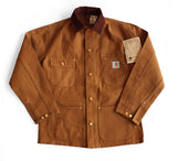 Carhartt Unlined Brown Duck Chore Coat #6C (Discontinued) - Hilton's Tent City