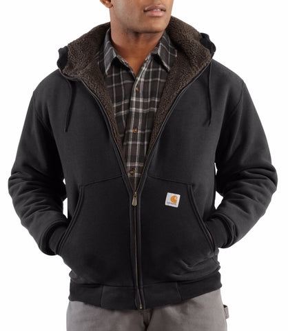 Carhartt Collinston Brushed Fleece Sherpa Lined Sweatshirt (Discontinued) - Hilton's Tent City