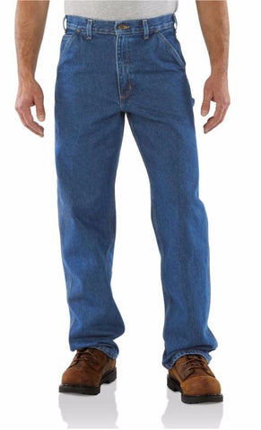 Carhartt Original Fit Signature Denim Dungaree B237 - Hilton's Tent City