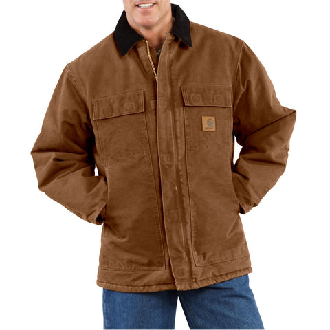 Clothing - Carhartt Sandstone Traditional Coat C26