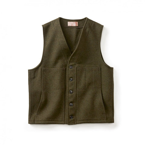 Filson Mackinaw Wool Vest - Hilton's Tent City