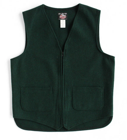 Clothing - Johnson Woolen Mills Two Pocket Wool Vest