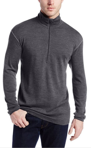 Clothing - Minus 33 Isolation Men's Midweight Wool 1/4 Zip