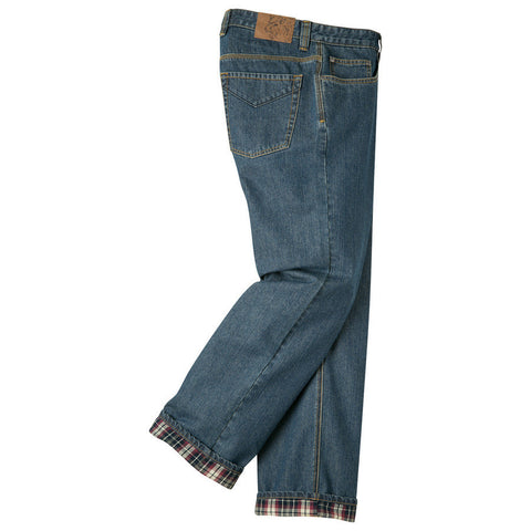 Mountain Khaki Flannel Lined Original Mountain Jeans (Discontinued) - Hilton's Tent City