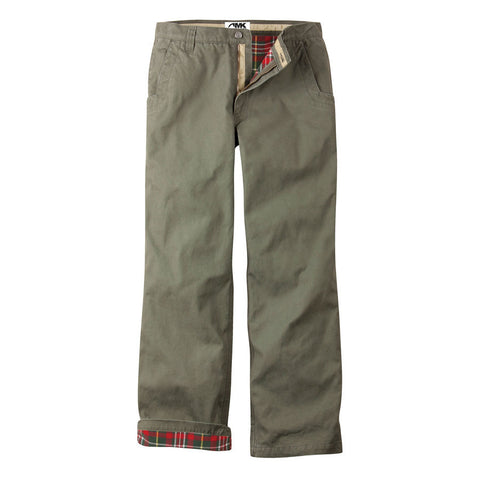 Mountain Khaki Flannel Lined Original Mountain Pant - Hilton's Tent City