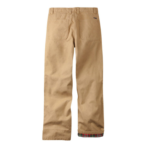 Clothing - Mountain Khaki Flannel Lined Original Mountain Pant