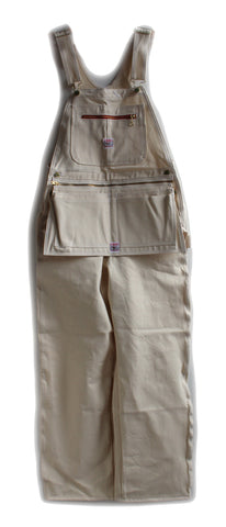 Clothing - Pointer Brand Natural Drill Painters Overalls W/ Zip Apron