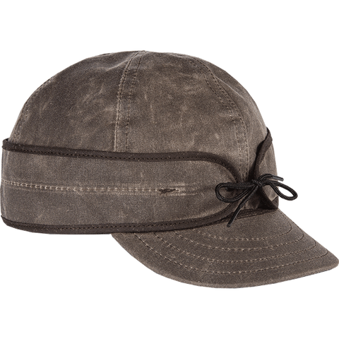 Stormy Kromer Waxed Cotton Cap - Hilton's Tent City