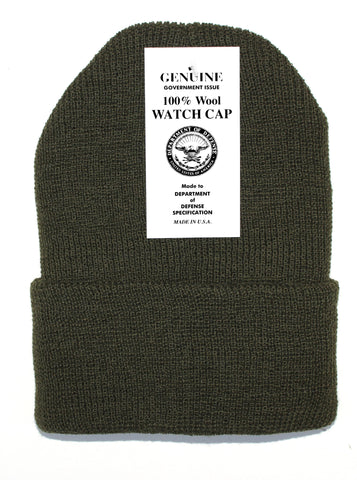 Clothing - Wool Watch Cap DOD Surplus