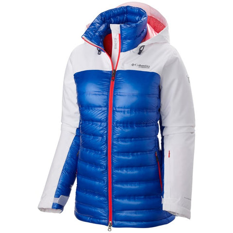 Columbia Heatzone 1000 TurboDown Hoodie Jacket-Women's (Discontinued) - Hilton's Tent City