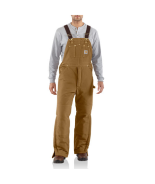 Carhartt Arctic Bib Overall Quilt Lined R03