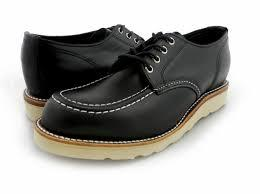 MOC TOE WEDGW OXFORD SHOES