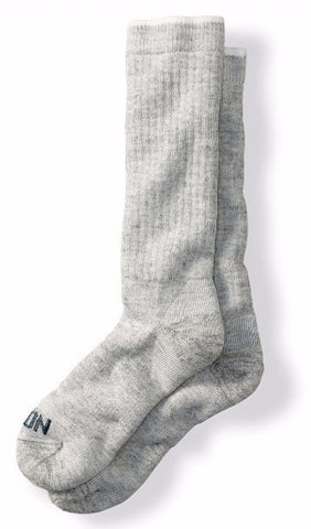 Filson Merino Wool Midweight Traditional Crew Socks - Hilton's Tent City