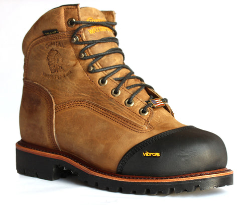 "Chippewa 6"" Waterproof Composite Toe Insulated Boots 25373 (Discontinued) - Hilton's Tent City"