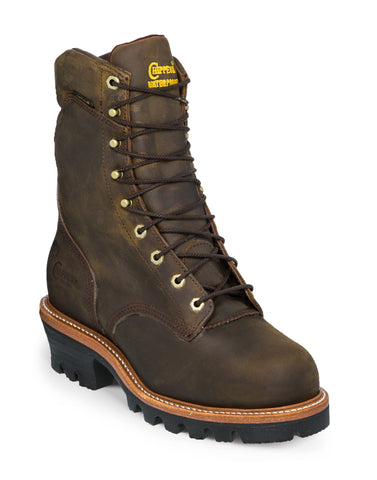 Chippewa Bay Apache Steel Toe Super Logger 9-inch Boot 25407 - Hilton's Tent City