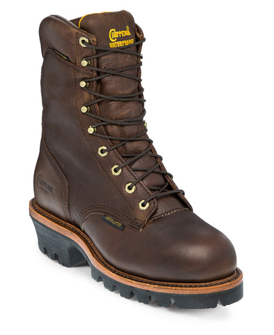 Chippewa Briar Oiled Logger Steel Toe 9-inch Boot 25420 - Hilton's Tent City