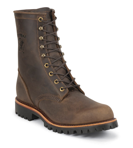 Chippewa Chocolate Apache Utility Lug Sole Boots 20085 - Hilton's Tent City