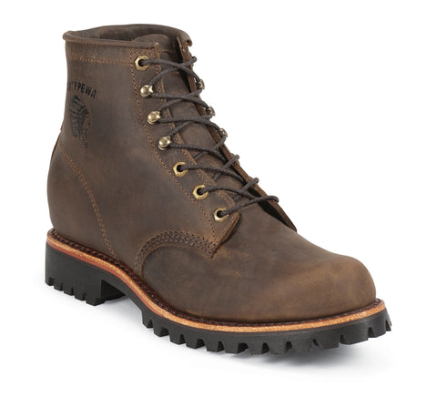 Chippewa Men's Chocolate Apache Utility Rugged Outdoor Boots 20080 - Hilton's Tent City