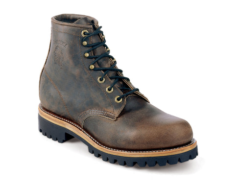 Footwear - Chippewa Sorrel Crazy Horse Engineer 6-inch Men's Lace-Up Boot 25290