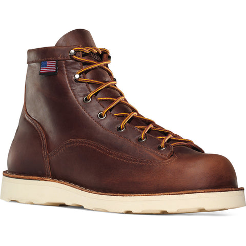 "Danner Bull Run Work Boot 6"" Brown - Hilton's Tent City"