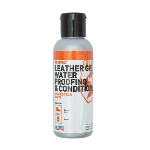 Gear Aid ReviveX Leather Gel Water Repellent and Conditioner - Hilton's Tent City
