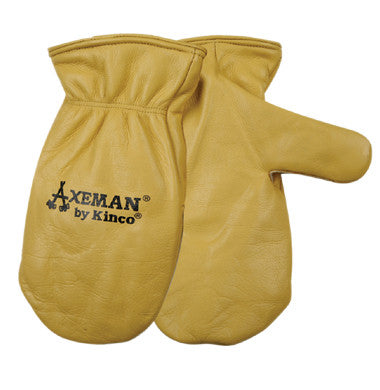 Gloves - Kinco Axeman®Lined Grain Leather Mitts