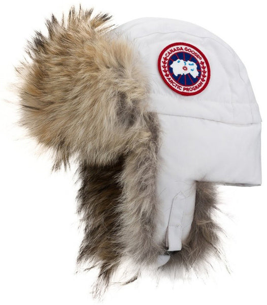 ace6101295081e Canada Goose Aviator Hat at Hilton's Tent City in Boston, MA CG Down