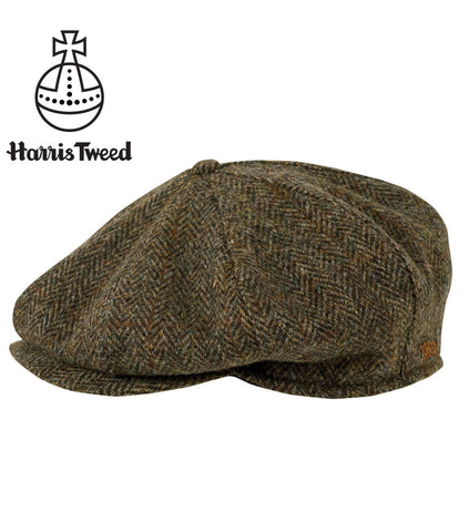 Tilley TNC1 Newsboy Cap in Harris Tweed - Hilton's Tent City