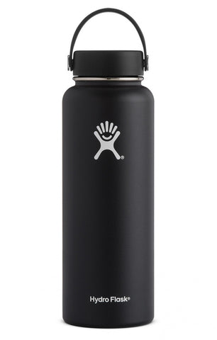 Hydroflask 40 oz Wide Mouth Vacuum Insulated Bottle Black