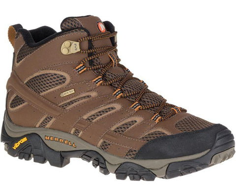 Merrell Men's Moab 2 Mid Gore-Tex® Hiking Boots - Hilton's Tent City