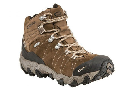 Women's Hiking Boots Oboz Women's Bridger Mid BDry Boots Walnut