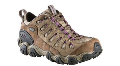 Women's Light Hikers Oboz Women's Sawtooth Low BDry Violet