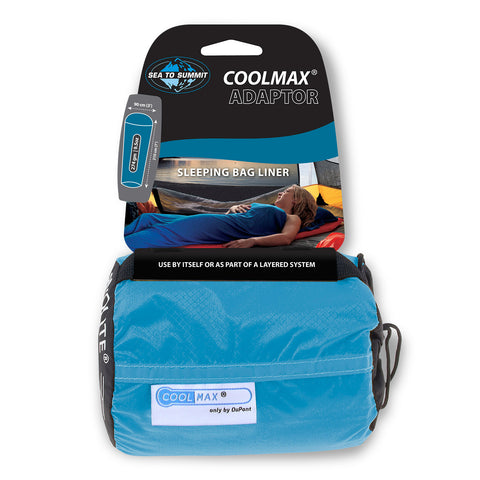 Sleeping Bags - Sea To Summit Adaptor Coolmax® Liner