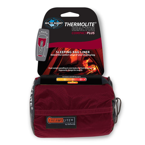 Sleeping Bags - Sea To Summit Thermolite® Reactor Compact Plus Liner
