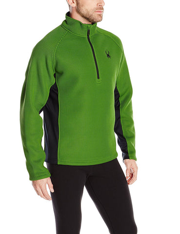 Spyder Pitch Half Zip Heavy Weight Core Sweater - Hilton's Tent City