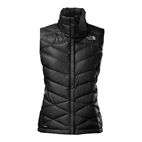 Women's Down Vest  The North Face Women's Aconcagua Vest Black