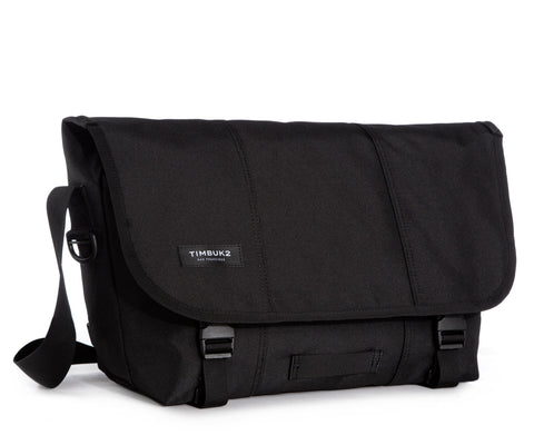 Timbuk2 Classic Messenger Bag - Medium Jet Black