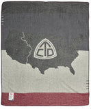 Woolrich Continental Divide Trail Wool Blanket  Apps   Save