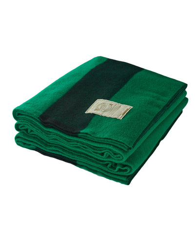 Home Goods Woolrich Greenlander Wool Blanket Green