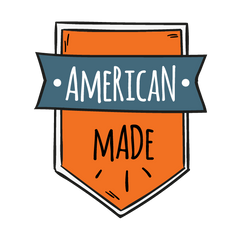 Little TroubleMakers American Made Badge