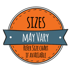 Little TroubleMakers Sizes May Vary Badge