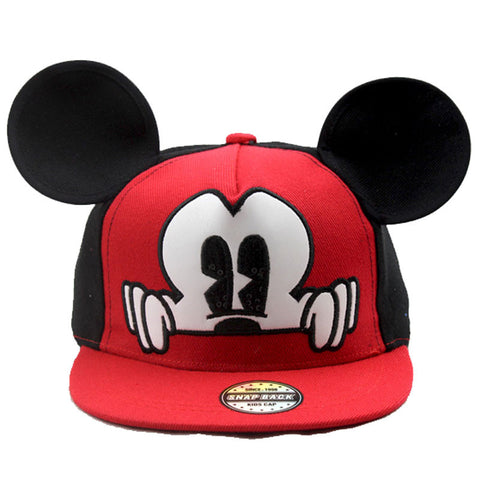 Mickey 3D Snapback Baseball Hat