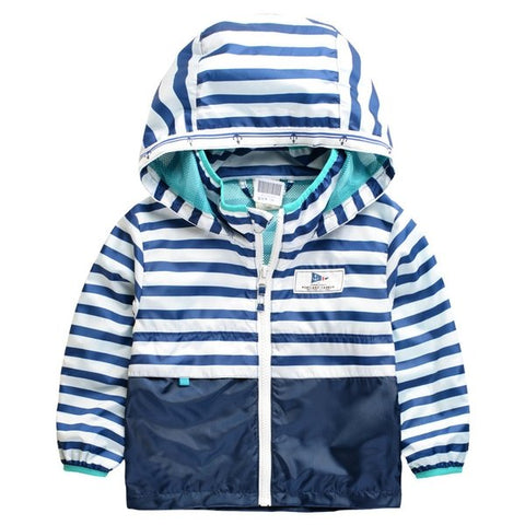 Boys Hooded Raincoat
