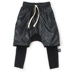 Layered Harem Shorts Over Warm Spandex Pants - Little TroubleMakers | Kids Toys and Fashion