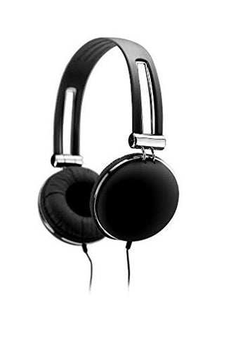 Sentry Retro High Performance Stereo Headphones - Black